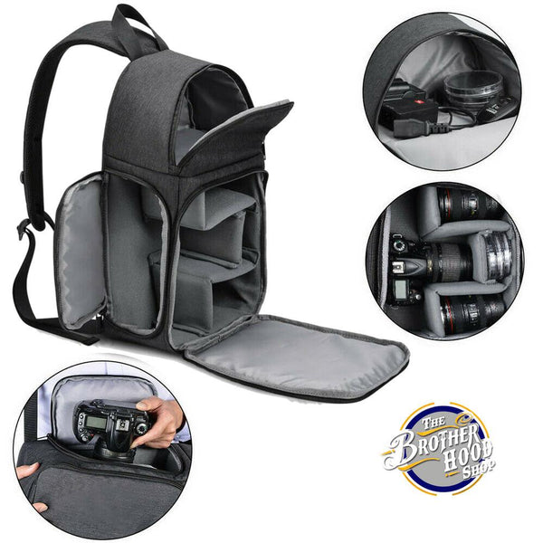 Waterproof Camera Protection Backpack- Travel and Outdoors Camera Backpack - The Brotherhood shop