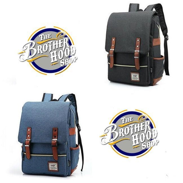 Women Leather Backpack -  College Laptop Backpack - Fashion Backpack - Casual School Bag - The Brotherhood shop