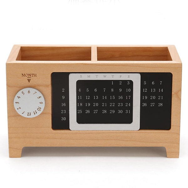 Wooden Desk Organizer - The Brotherhood shop