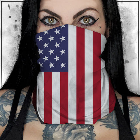 Patriot - American Flag Neck Gaiter