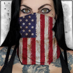 Patriot - American Flag Worn Neck Gaiter