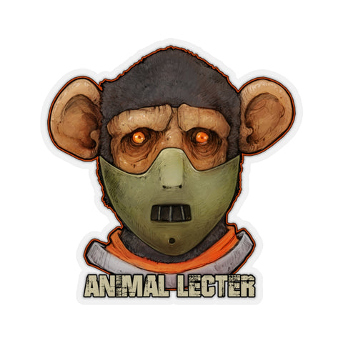 Cuddly Killers | Animal Lecter | Kiss-Cut Stickers