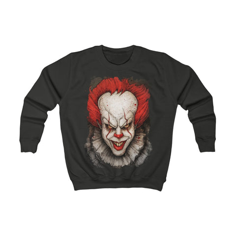 Horror  | Pennywise (New) | Kids Sweatshirt