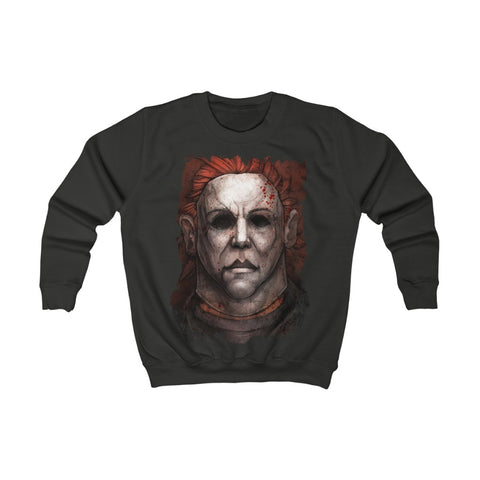 Horror  | Michael Myers | Kids Sweatshirt