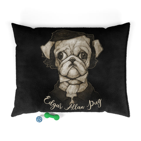 Cuddly Killers | Edgar Allan Pug | Pet Bed