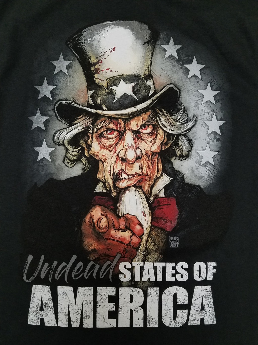 Undead States of America Canvas