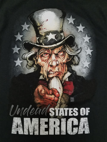 Undead States of America 11x17 Print
