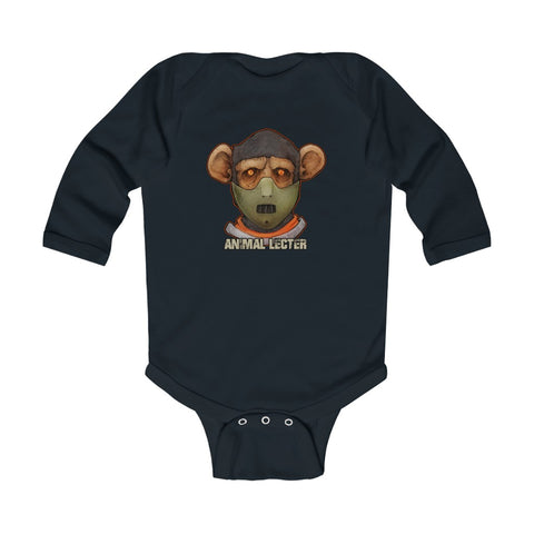 Cuddly Killers | Animal Lecter | Infant Long Sleeve Bodysuit