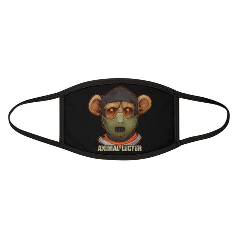 Cuddly Killers | Animal Lecter | Mixed-Fabric Face Mask