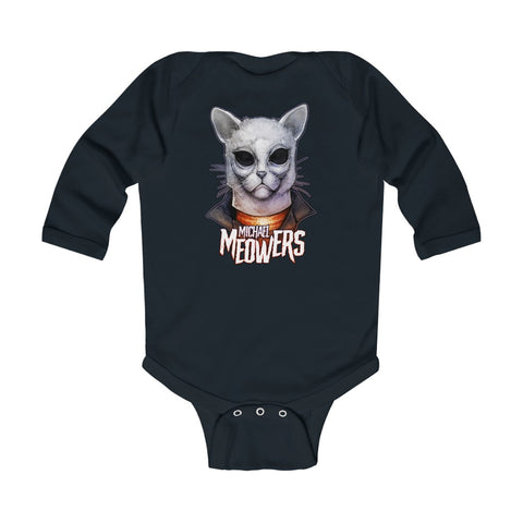 Cuddly Killers | Michael Meowers | Infant Long Sleeve Bodysuit