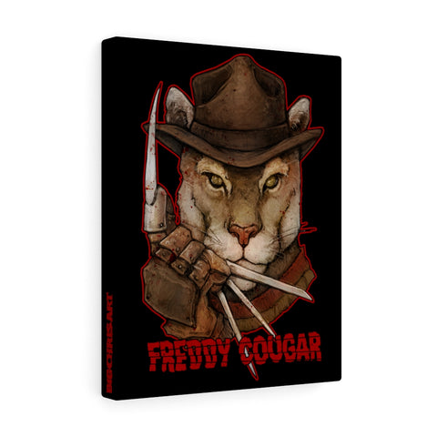 Cuddly Killers | Freddy Cougar | Canvas Gallery Wraps