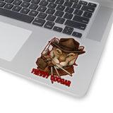 Cuddly Killers | Freddy Cougar | Kiss-Cut Stickers