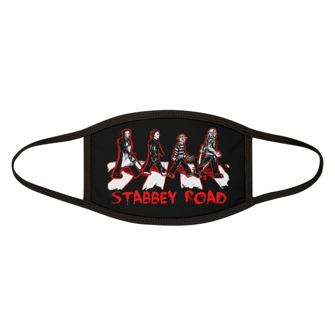 Horror | Stabbey Road | Mixed-Fabric Face Mask