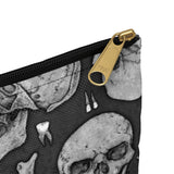 Apothic Ink | Anatomical Skull Pattern | Accessory Pouch