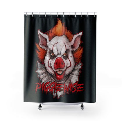 Cuddly Killers | Piggiewise | Shower Curtains