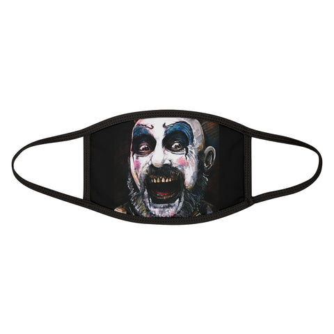 Horror | Captain Spaulding | Mixed-Fabric Face Mask