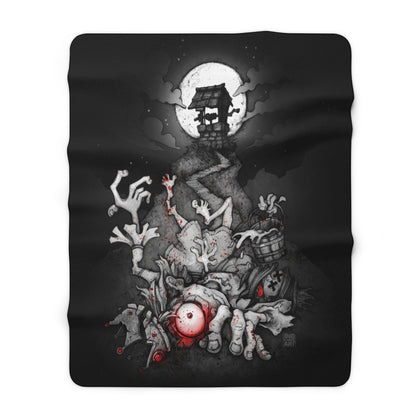 Sinister Fables | Jack and Jill | Sherpa Fleece Blanket