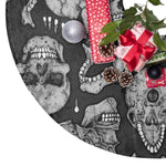 Apothic Ink | Anatomical Skull Pattern | Christmas Tree Skirts