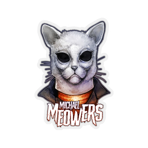 Cuddly Killers | Michael Meowers | Kiss-Cut Stickers