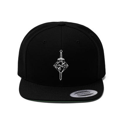 This Is Piercing | Logo | Unisex Flat Bill Hat