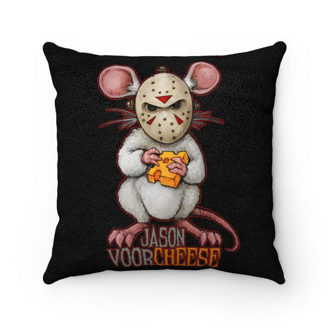 Cuddly Killers | Jason Voorcheese | Faux Suede Square Pillow