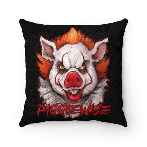 Cuddly Killers | Piggiewise | Faux Suede Square Pillow