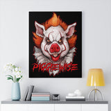 Cuddly Killers | Piggiewise | Canvas Gallery Wraps