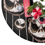 NBC | Jack Skellington's Face Pattern | Christmas Tree Skirts