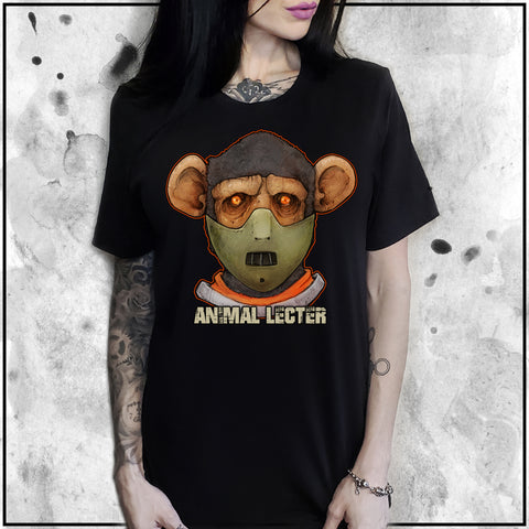 Cuddly Killers | Ladies | Animal Lecter | Oversized Tee