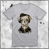 Cuddly Killers | Ladies | Edgar Allen Pug | Oversized Tee