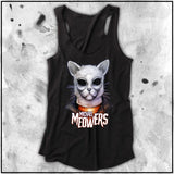 Cuddly Killers | Ladies | Michael Meowers | Triblend Racerback Tank