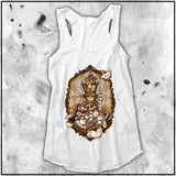 Ladies | Alice - All Mad Here | Triblend Racerback Tank