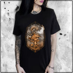 Ladies | Alice - Who Are You - Apothic Dust | Oversized Tee