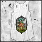 Ladies | Alice - Who Are You - Full Color | Triblend Racerback Tank