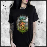 Ladies | Alice - Who Are You - Full Color | Oversized Tee