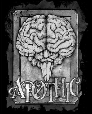 Art | Apothic Ink - Brain 3 | 8x10 Print