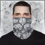 Apothic - Brain (Light Grey) Neck Gaiter