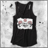 Ladies | Apothic Ink - Einstein Brains | Triblend Racerback Tank