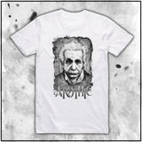 Ladies | Apothic Ink - Einstein Front | Oversized Tee