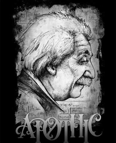 Art | Apothic Ink - Einstein Profile | 8x10 Print