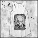 Ladies | Apothic Ink - Einstein - She Blinded Me | Triblend Racerback Tank