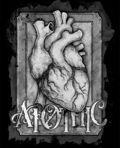 Art | Apothic Ink - Heart 1 | 8x10 Print
