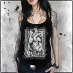 Ladies | Apothic Ink - Heart 1 | Triblend Racerback Tank