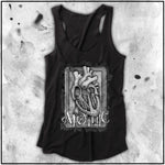 Ladies | Apothic Ink - Heart 2 | Triblend Racerback Tank