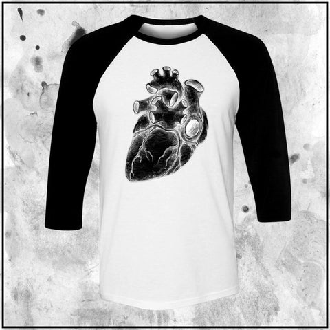 Apothic Ink - Pencils - Heart3 XRay | Raglan