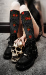 Apothic - Roses Spot Color Socks