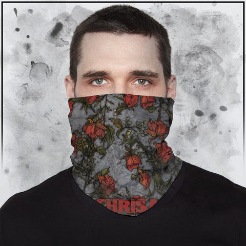 Apothic - Roses Full Color Neck Gaiter