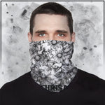 Apothic - Sunflowers Light Grey Neck Gaiter