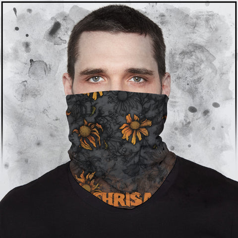 Apothic - Sunflowers Spot Color Neck Gaiter