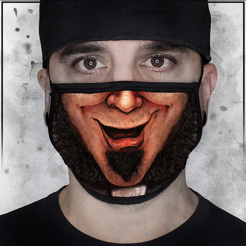 Father Evil - Evil Grin Face Mask